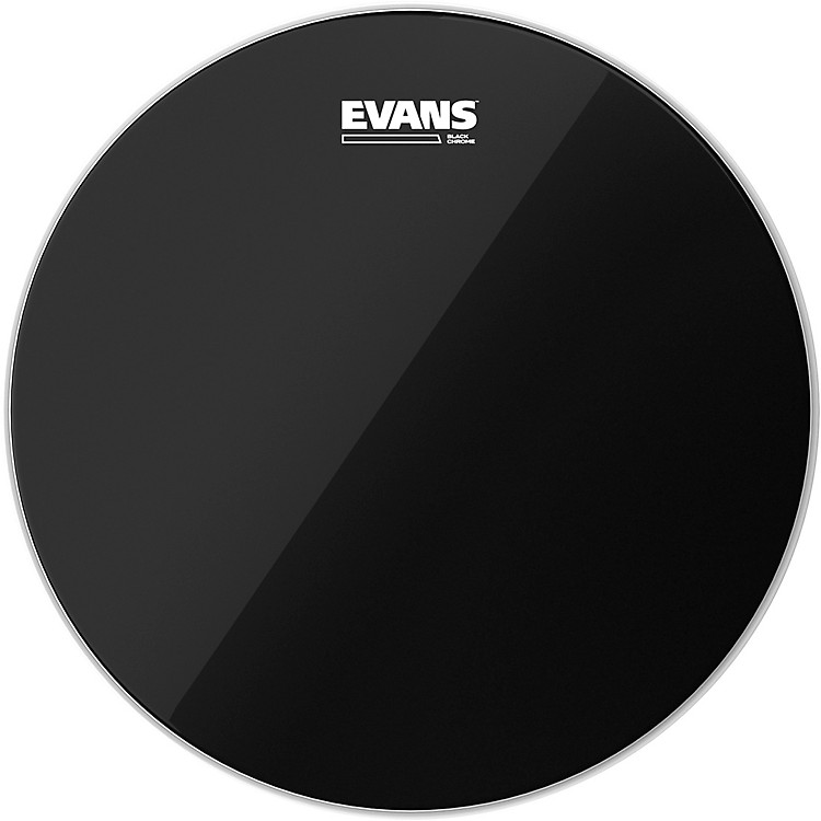 Evans Black Chrome Tom Batter Drumhead 20 in.