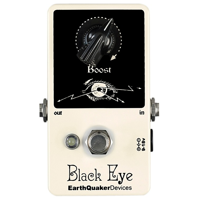 EarthQuaker DevicesBlack Eye Clean Boost Guitar Effects Pedal