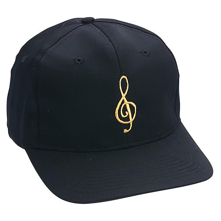 AIM Black/Gold Treble Clef Hat