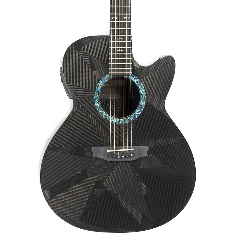 RainsongBlack Ice Series BI-WS1000N2 Graphite Acoustic-Electric GuitarCarbon