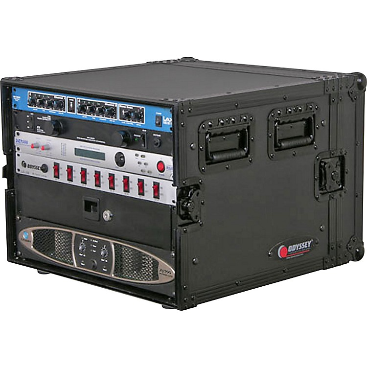 Odyssey Black Label Amp Rack 8 Space Rack