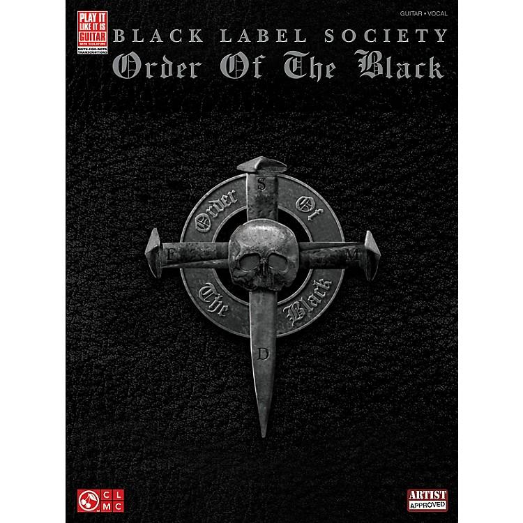 Cherry LaneBlack Label Society: Order Of The Black Guitar Tab Songbook