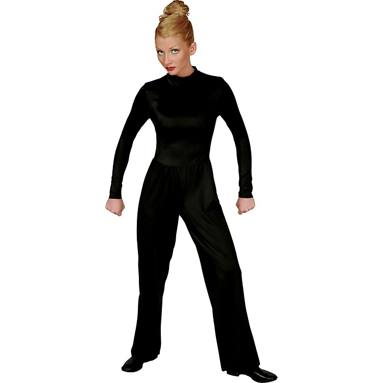 Director's Showcase Black Lycra Jumpsuit