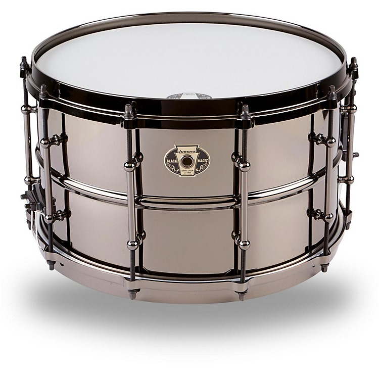 Ludwig Black Magic Snare Drum 8x14
