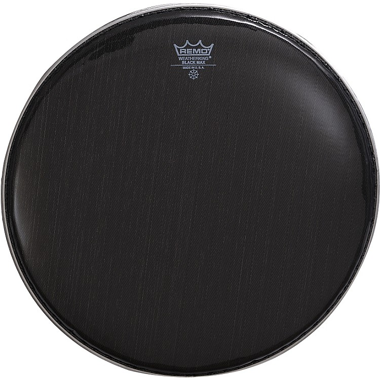 RemoBlack Max Crimped Marching Snare Drum HeadEbony13 in.