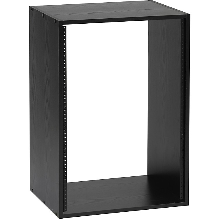 Raxxess Black Oak Studio Rack  16 Space