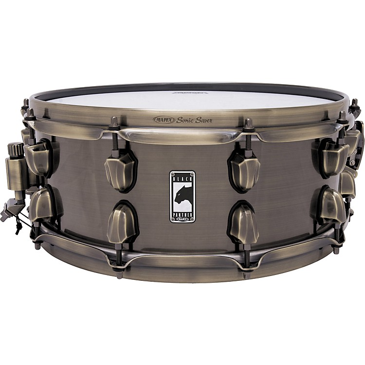 Mapex Black Panther Brass Cat Snare Drum 14X5