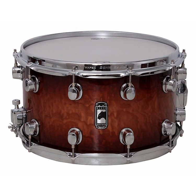 Mapex Black Panther Special Edition Maple Snare Drum Coffee Burst 14 X 8