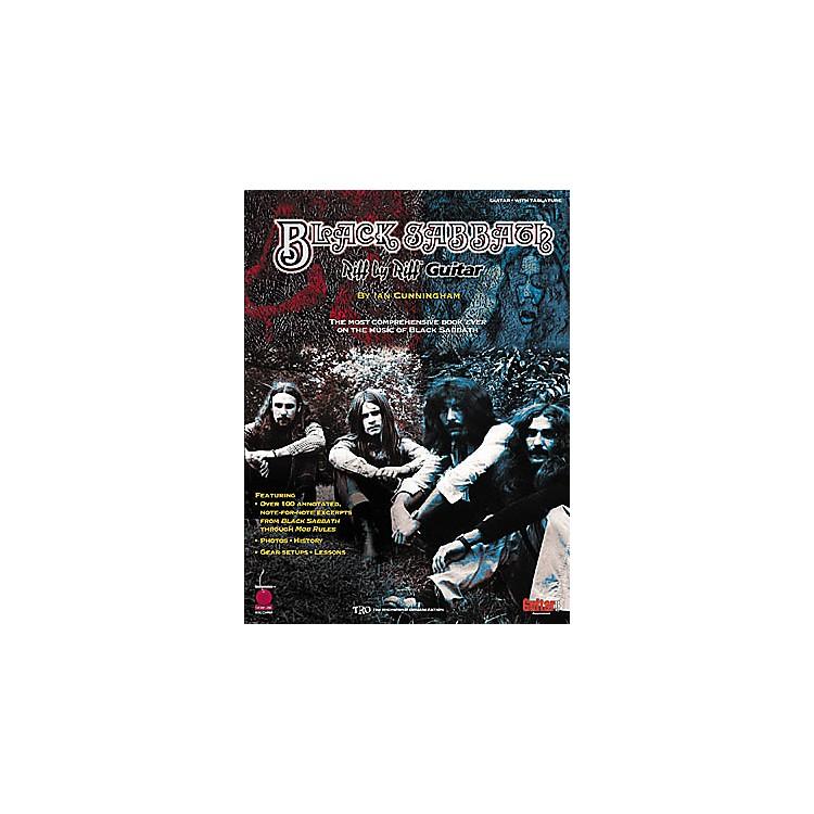 Cherry LaneBlack Sabbath Riff by Riff Guitar Tab Songbook