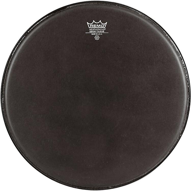 RemoBlack Suede Emperor Tenor Drumhead with CrimplockBlack Suede12