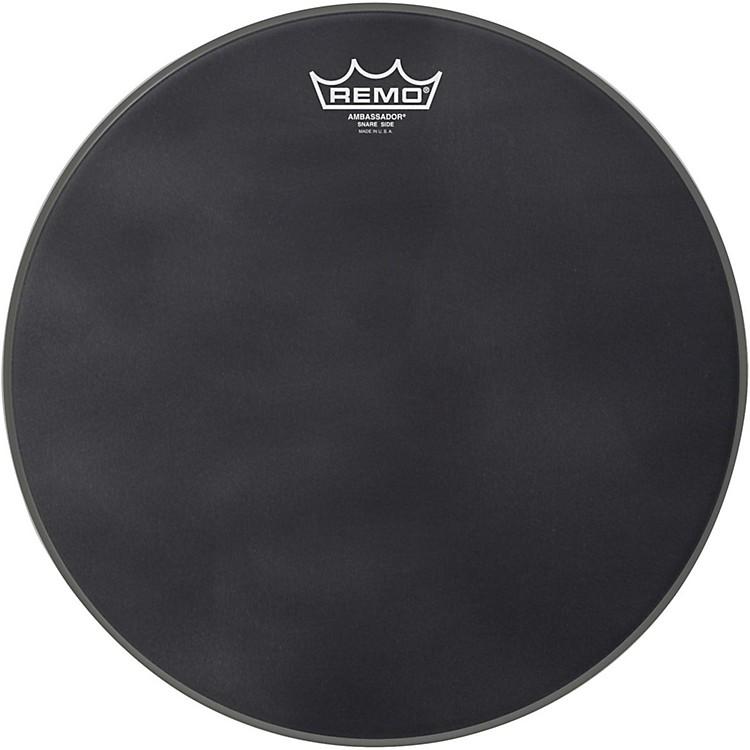 RemoBlack Suede Series Snare Side DrumheadMatte Black13