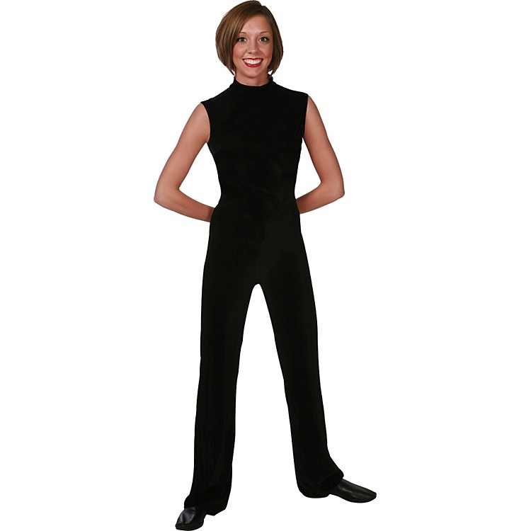 Director's Showcase Black Velvet Jumpsuit