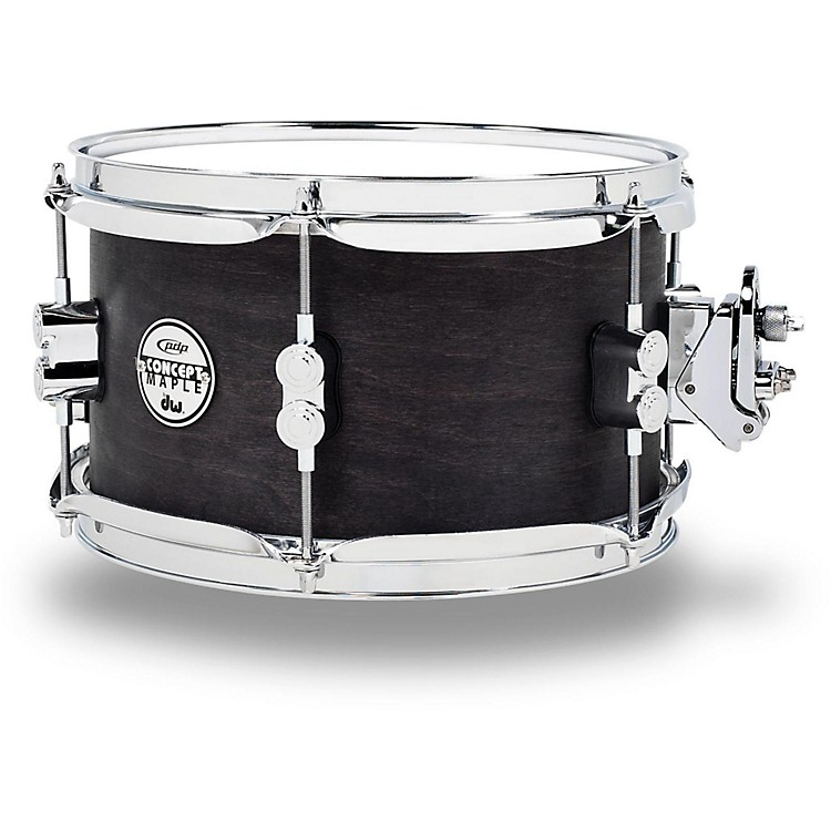 PDP Black Wax Maple Snare Drum 10x6 Inch