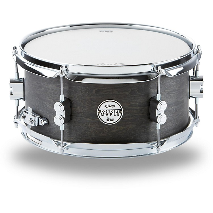 PDP Black Wax Maple Snare Drum 12x6 Inch