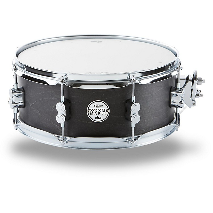 PDP Black Wax Maple Snare Drum 13x5.5 Inch