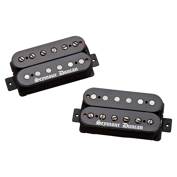 Seymour Duncan Black Winter Humbucker Electric Guitar Pickup Black Set