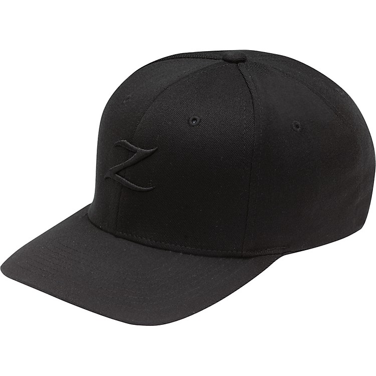 Zildjian Black on Black Stretch-Fit Cap Large
