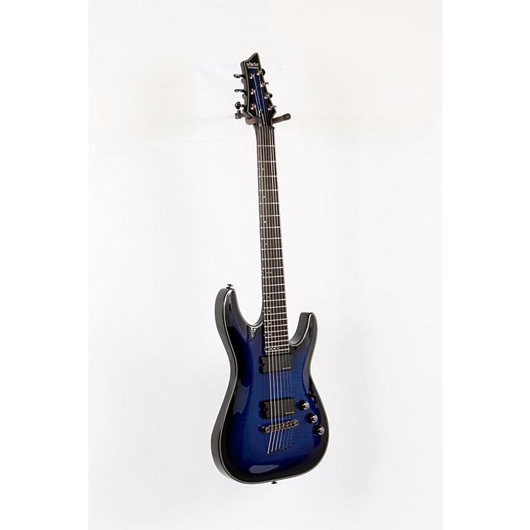 Schecter Guitar ResearchBlackjack SLS C-7 Active Electric GuitarSee-Thru Blue Burst888365168685