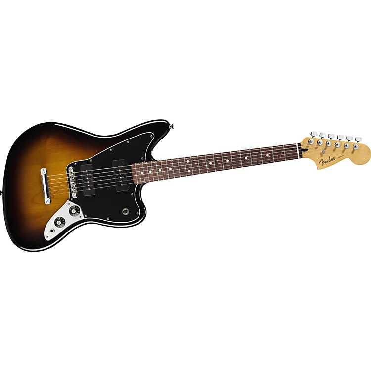 Fender Blacktop Jaguar B90 Electric Guitar 2 Color Sunburst Rosewood Fingerboard