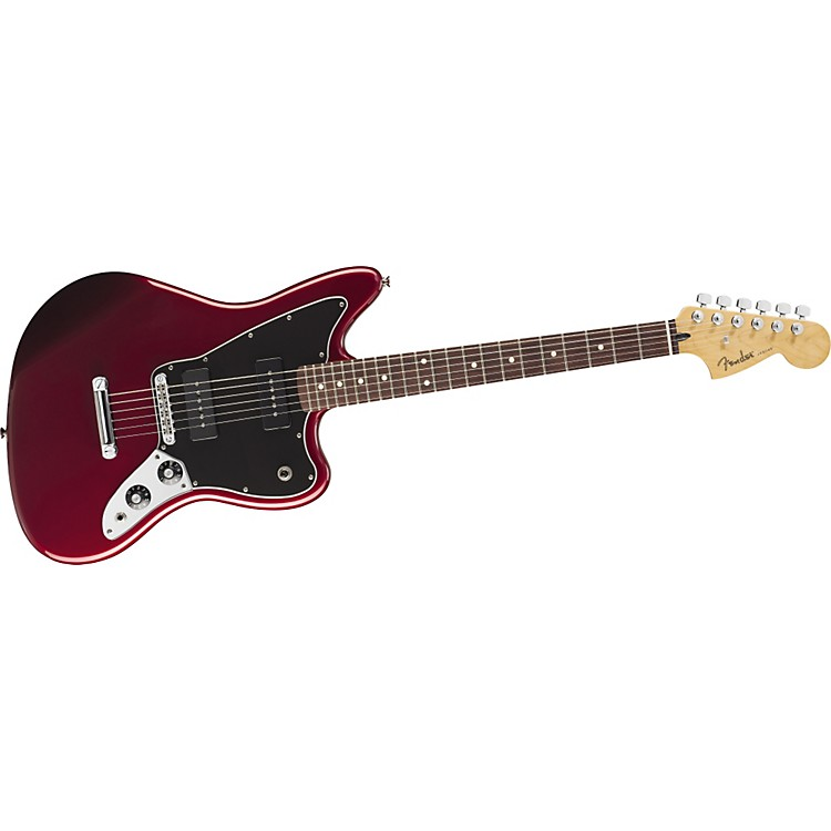 Fender Blacktop Jaguar B90 Electric Guitar Candy Apple Red Rosewood Fingerboard