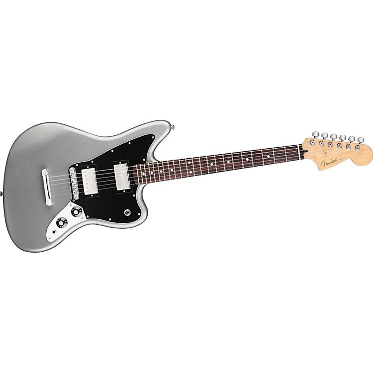 FenderBlacktop Jaguar HH Electric GuitarSilverRosewood