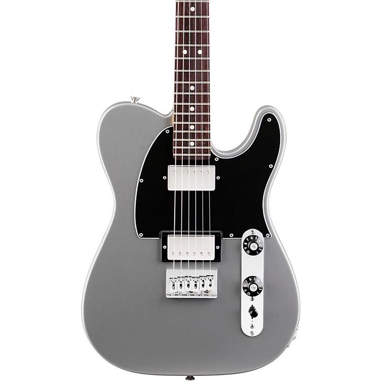 FenderBlacktop Telecaster HH Electric Guitar (Rosewood Fingerboard)SilverRosewood