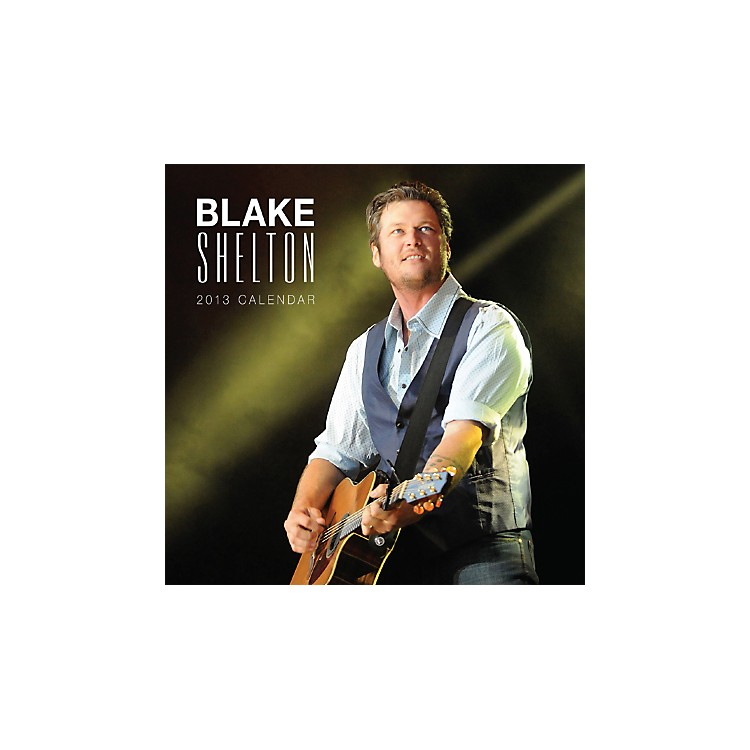 Browntrout Publishing Blake Shelton 2013 Square Calendar