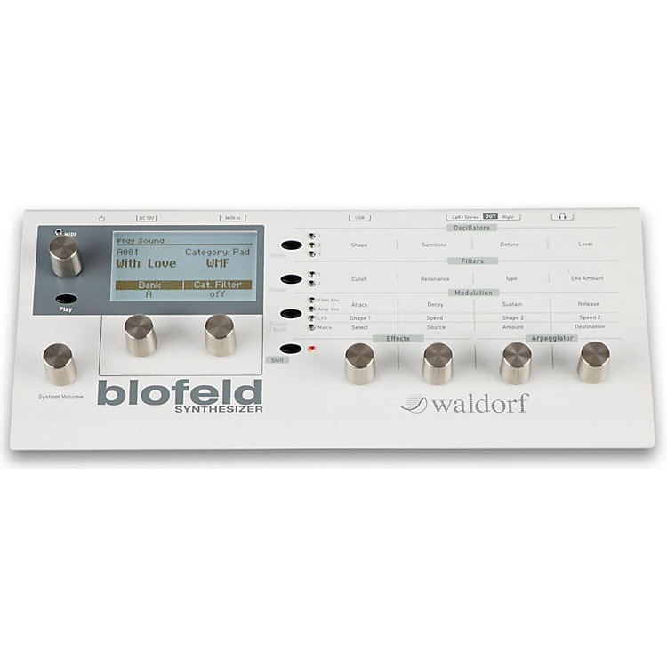 WaldorfBlofeld Desktop Synth ModuleCreme