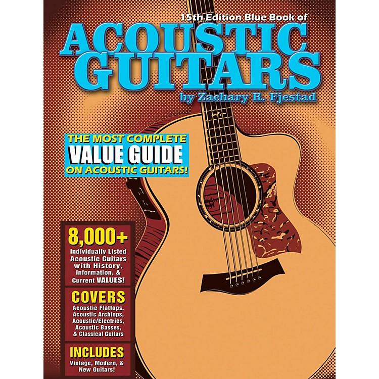 Hal LeonardBlue Book Of Acoustic Guitars - 15th Edition