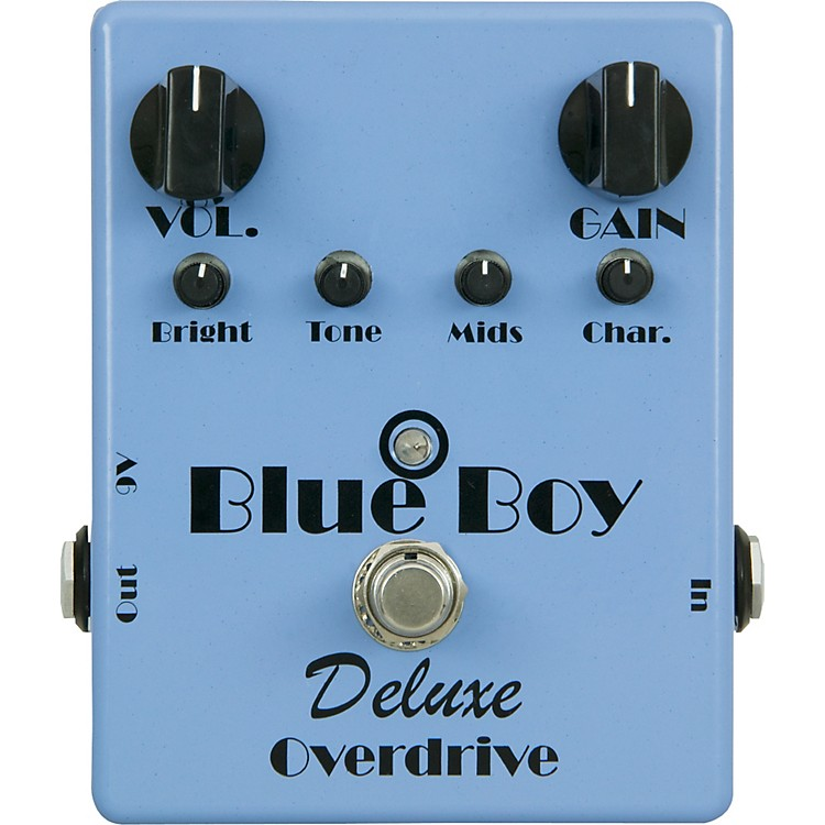 MI Audio Blue Boy Deluxe v.2 Overdrive Guitar Effects Pedal