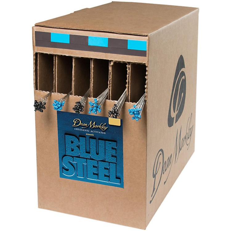 Dean MarkleyBlue Steel-Medium Light Box 25 Sets Acoustic Guitar Strings