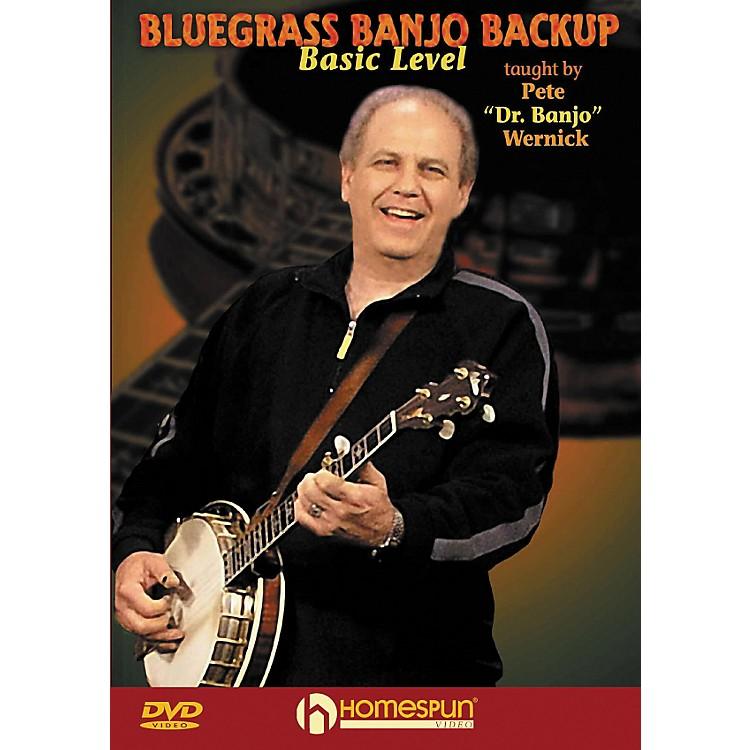 HomespunBluegrass Banjo Backup for Beginners DVD