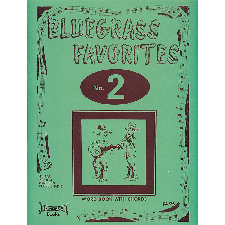 Morrell Music Bluegrass Favorites Book Volume 2