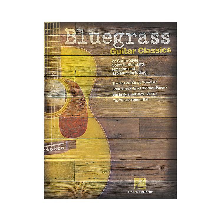 Hal LeonardBluegrass Guitar Classics Tab Songbook