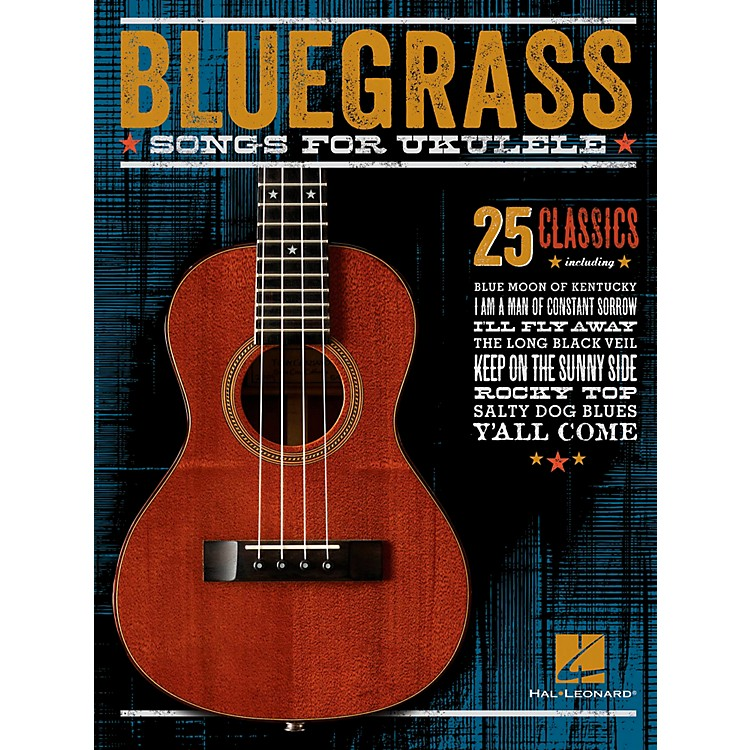 Hal Leonard Bluegrass Songs For Ukulele