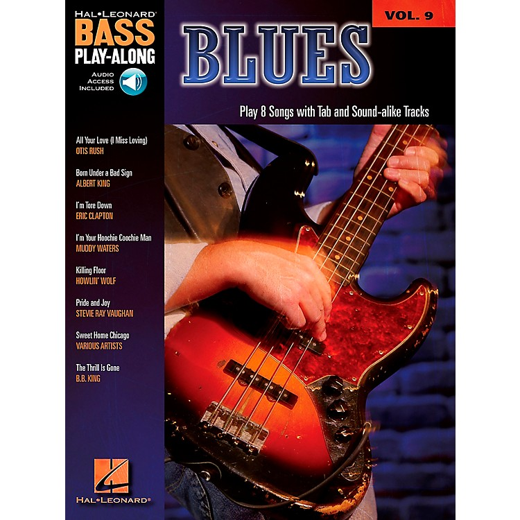 Hal Leonard Blues - Bass Play-Along Series Volume 9 Book and CD