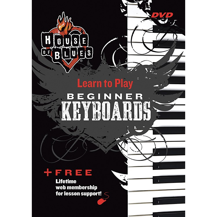 Rock House Blues Beginner Keyboards DVD
