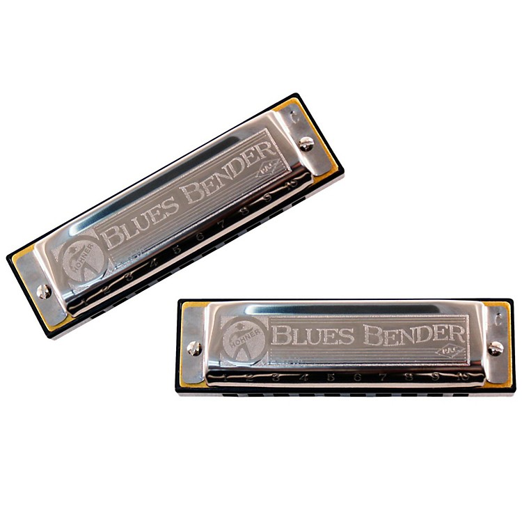 HohnerBlues Bender P.A.C. Harmonica (2 Pack)D