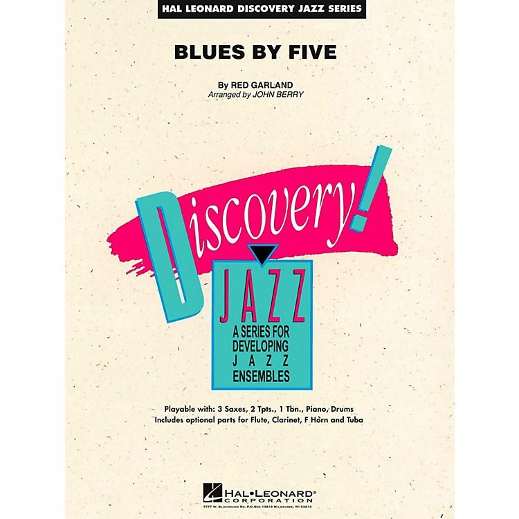 Hal LeonardBlues By Five Jazz Band Level 2