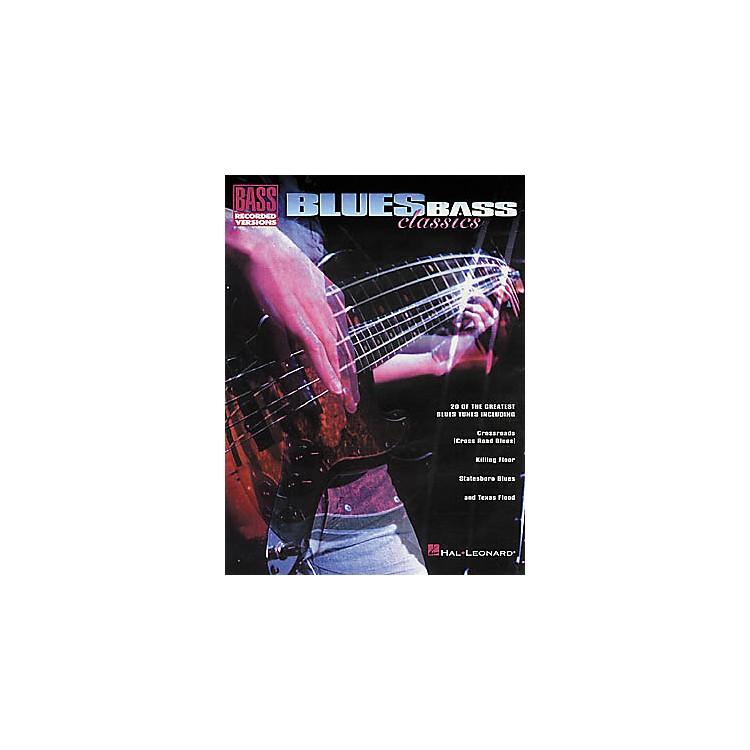 Hal LeonardBlues Classics Bass Tab Book