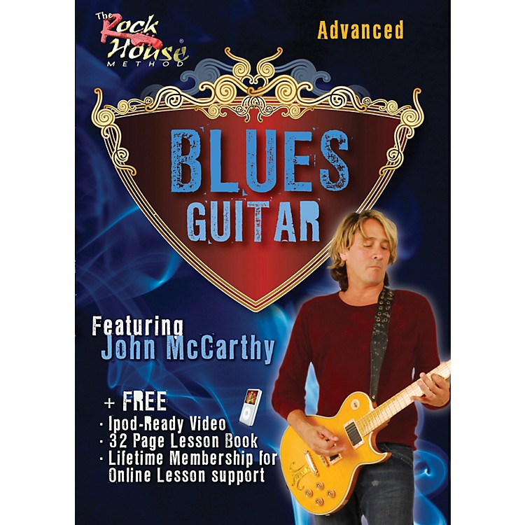 Rock House Blues Guitar Advanced Featuring John McCarthy