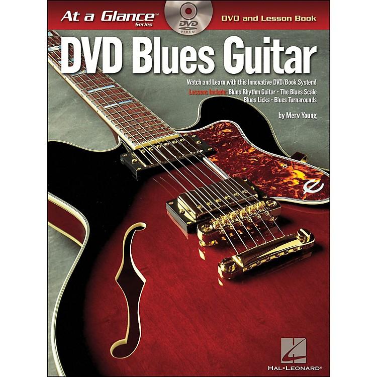 Hal LeonardBlues Guitar At A Glance Book/DVD