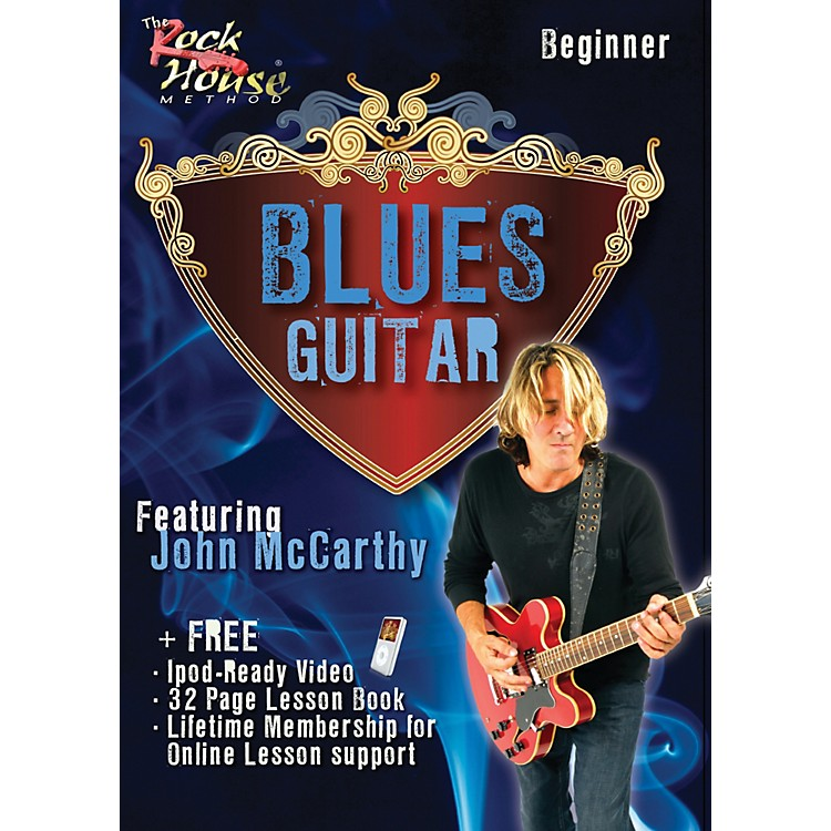 Rock House Blues Guitar Beginner Featuring John McCarthy DVD