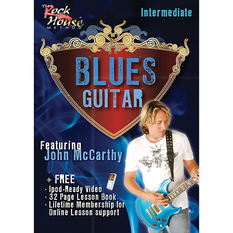 Rock House Blues Guitar Intermediate Featuring John McCarthy