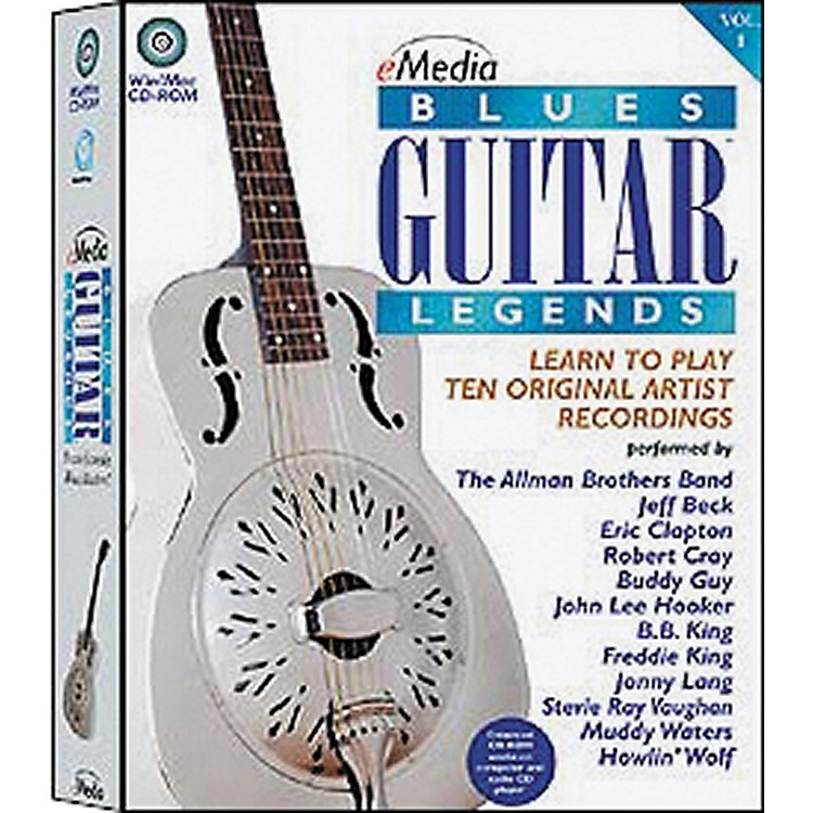 Emedia Blues Guitar Legends Vol 1 (CD-ROM)