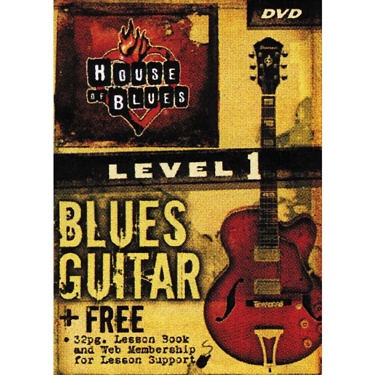 Rock House Blues Guitar Level 1 (DVD)