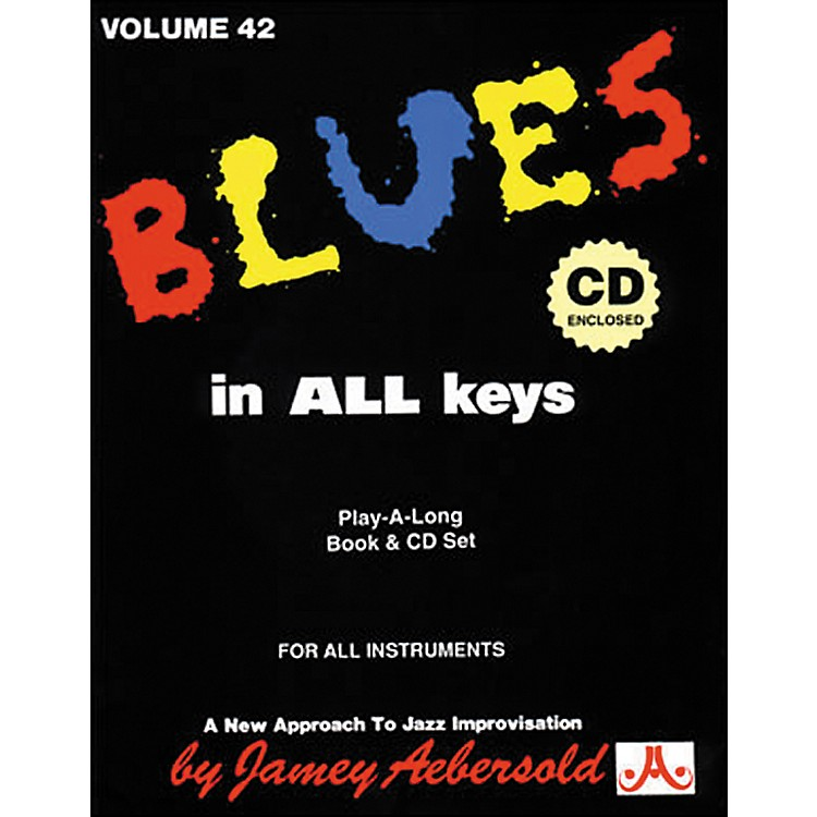 Jamey Aebersold Blues In All Keys Book and CD