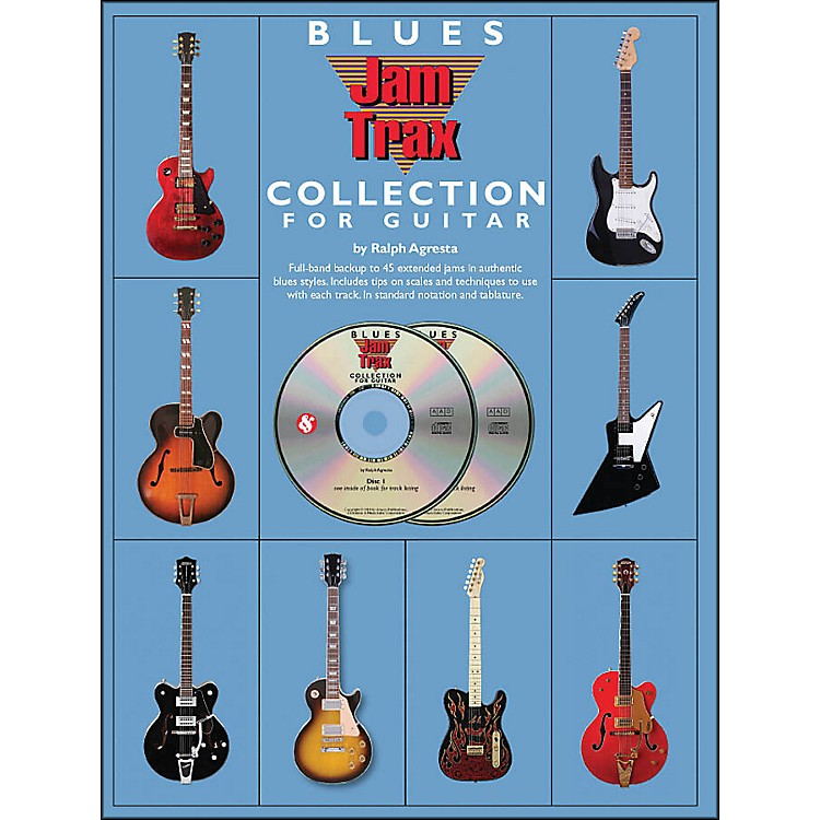 Music SalesBlues Jamtrax Collection - Book/2-CD Pack