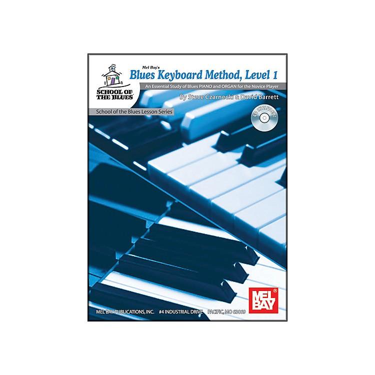Mel BayBlues Keyboard Method, Level 1 Book and CD