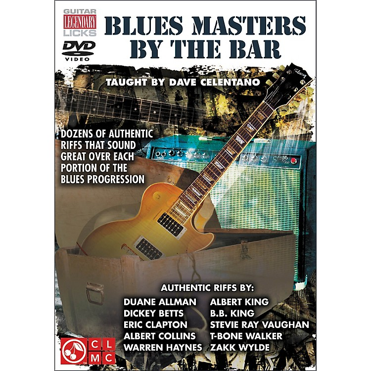 Cherry LaneBlues Masters By The Bar (DVD)